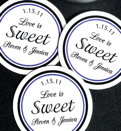 printable labels wedding favors printable wedding love is sweet labels diy by ladybuglabels