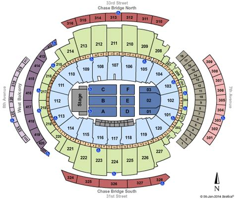 madison square garden floor plan madison square garden seating chart with seat numbers