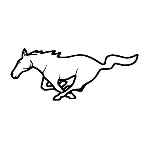 mustang horse logo covercraft 174 fd 3 front silkscreen pony logo
