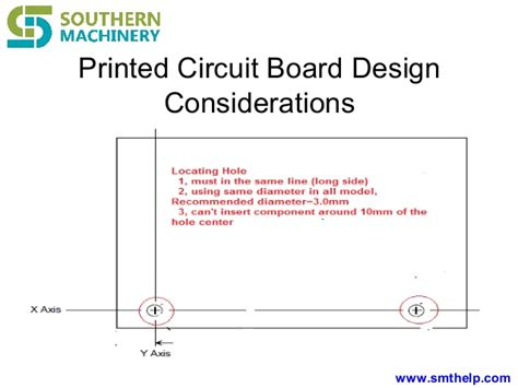 pcb layout design considerations radial insertion machine pcb design considering