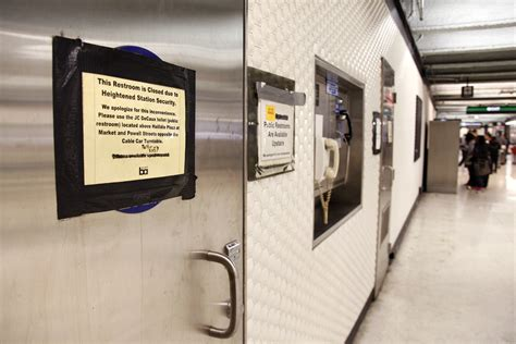which bart stations have bathrooms bart considers reopening bathrooms at underground stations