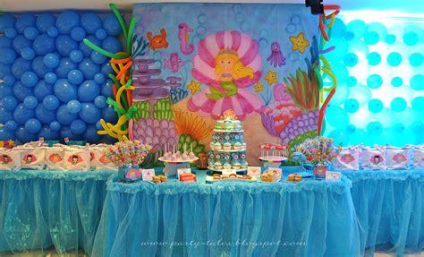 The Sea Birthday Decorations by Tales Birthday The Sea Birthday