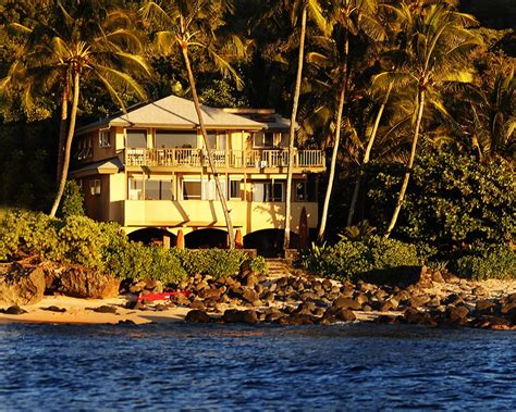 Spectacular Beachfront Home Located On The Famous North House Rentals Shore Oahu