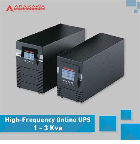 Ups Arakawa On Line Mp98a 120kva hp high frequency ups indotara agen arakawa ups