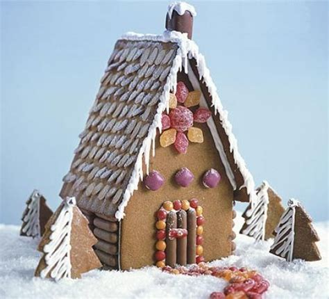 easy gingerbread house designs simple gingerbread house recipe bbc good food