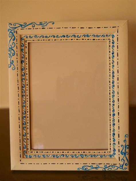 cornici dipinte a mano cornice portafoto dipinta a mano per la casa e per te