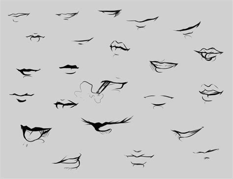 Drawing Mouths by Reference By Ryky On Deviantart