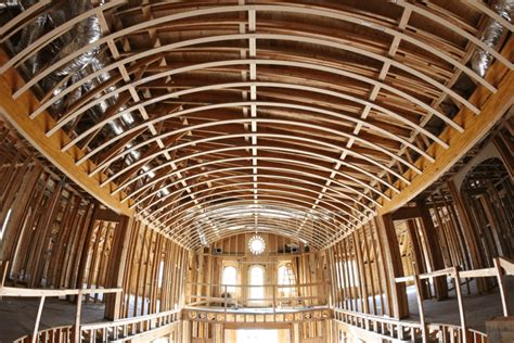 curved ceiling masterpiece featured project archways