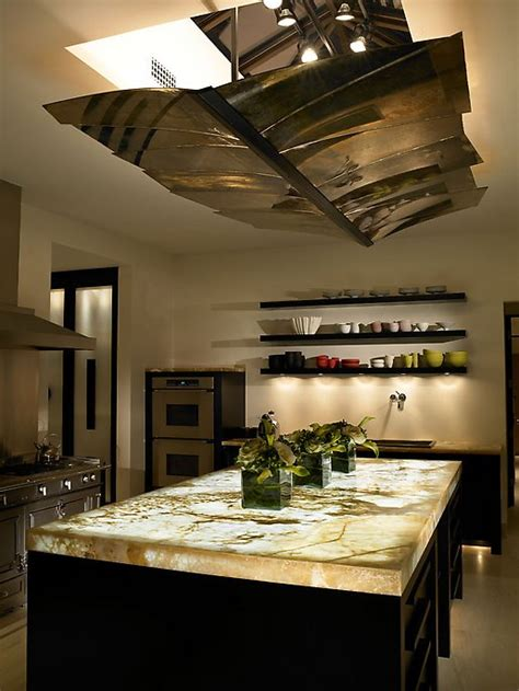 Lighted Onyx Countertops by The Granite Shop Lite It Up Backlit