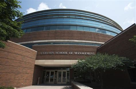 Cost Of Umn Carlson Mba by Curtis L Carlson School Of Management Cus Maps