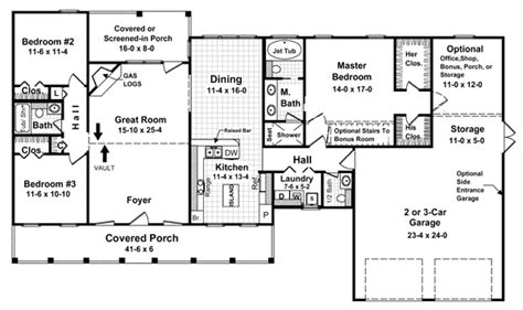 1800 square foot ranch house plans house plan 59067 at familyhomeplans