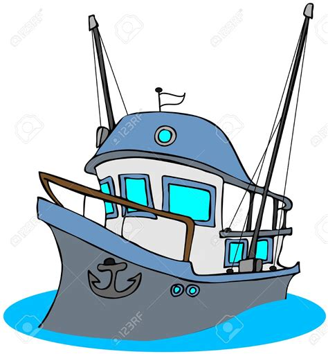cartoon fishing boat clipart yacht clipart trawler pencil and in color yacht clipart