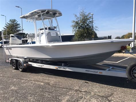 sea pro bay boat sea pro 248 bay boats for sale boats
