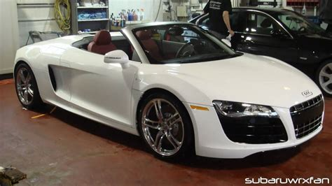 Audi R8 Convertible White by Audi R8 Convertible White Www Imgkid The Image Kid