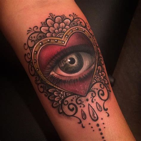 tattoo eye heart 189 best images about johnny smith art tattoos on pinterest