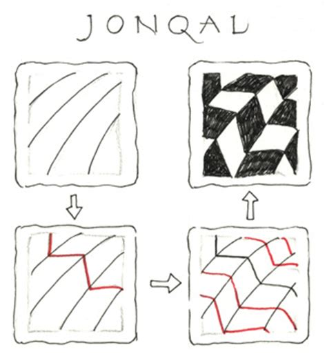 jonqal zentangle pattern news from zentangle