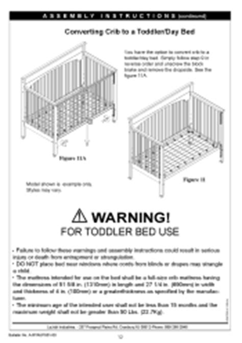 Graco 3251635 063 Lauren Classic Convertible Crib Graco Convertible Crib Manual