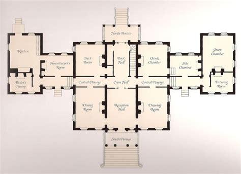 main floor plan louisiana nottoway plans pinterest plans architecturaux plans de maison and manoirs anglais