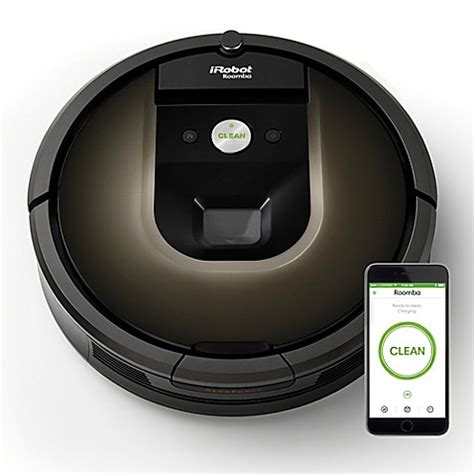 roomba bed bath beyond irobot 174 roomba 174 980 vacuum cleaning robot bed bath beyond