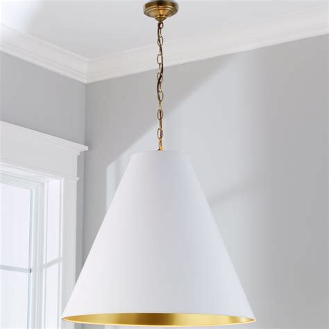 oversized cone paper shade pendant shades of light
