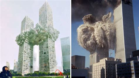 How Many Floors Were The Towers by New Towers Unveiled As World S Jaw Hits Floor