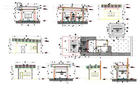 guard house design layout guard house design plan guard rom pinterest