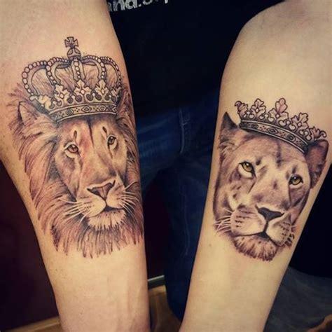 couple tattoo lion and lioness pin by ambar lopez on tattoos pinterest tatuajes