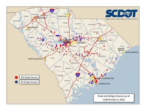 map south carolina department of transportation reports