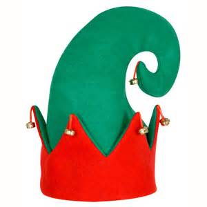 christmas crafts elf hats images