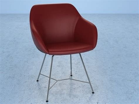 turtle sofa chair turtle chair 3d model walter knoll