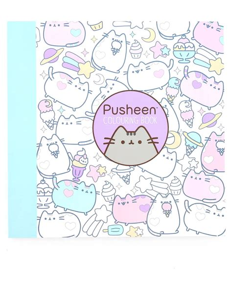 coloring book references pusheen colouring book reference non fiction books