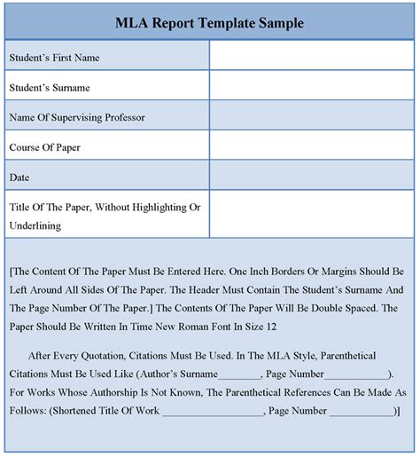 formatting your mla paper mla style guide 8th edition