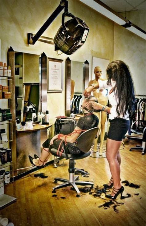 salons giving forced haircuts 275 best barberettes images on pinterest hairdressers