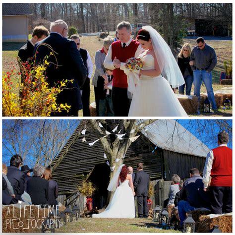 Seymour Sevierville Maryville TN Wedding Photographer barn