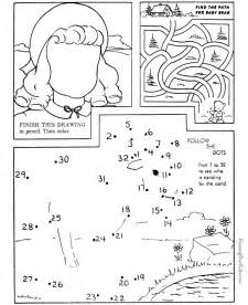 simple maze for kids 034
