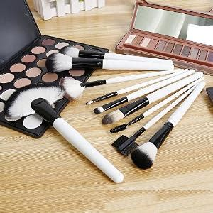 Eyebrow Cosmetic Makeup Brush Intl professional 12pc synthetic makeup brush set vegan approved