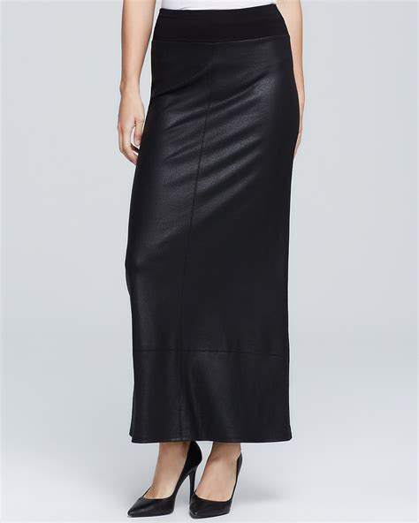 faux leather maxi skirt bloomingdale s