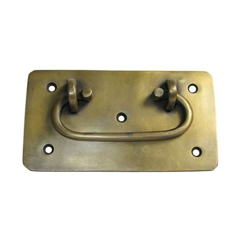 unlacquered brass hardware gado gado bail pulls 3 7 8 inch center to center