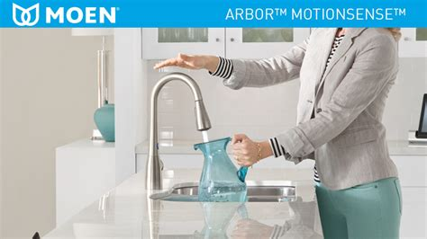shop moen arbor with motionsense spot resist stainless 1 moen arbor single handle pull down sprayer touchless