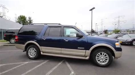 2007 Ford Expedition by 2007 Ford Expedition El Eddie Bauer Blue 7la68332