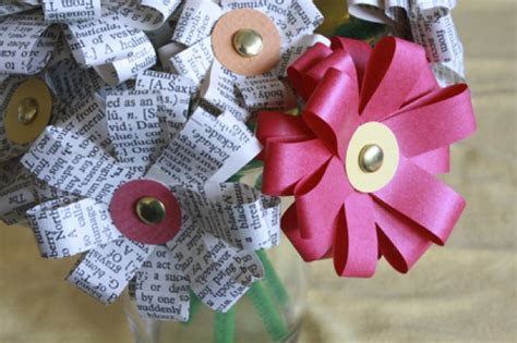 Make A Bouquet Of Flowers With Paper - diy paper flower tutorial by tally of i can make that