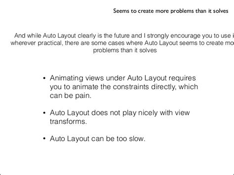 practical auto layout for xcode 7 pdf autolayout keynote