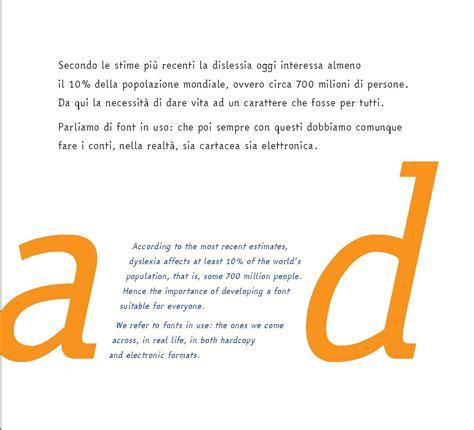 testo easy easyreading il primo font per dislessici artribune