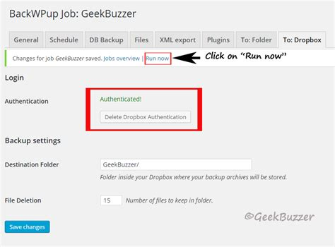 dropbox career how to completely backup your wordpress site using backwpup