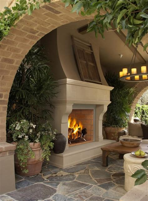 Patio Fireplace Designs 47 Unique Outdoor Fireplace Design Ideas