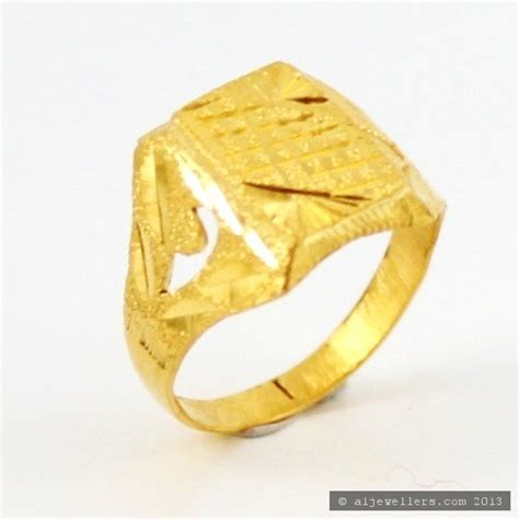 22ct indian gold boys ring 163 121 82 rings