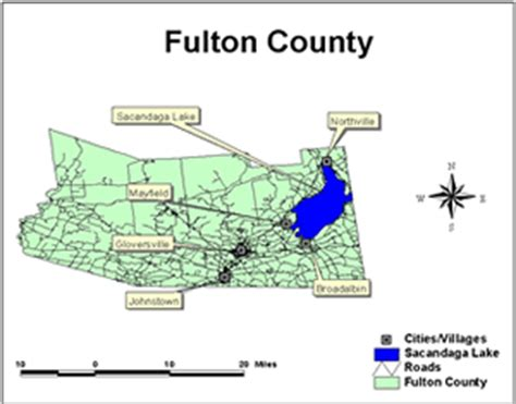 map of fulton county gis fall winter 2004 gist newsletter