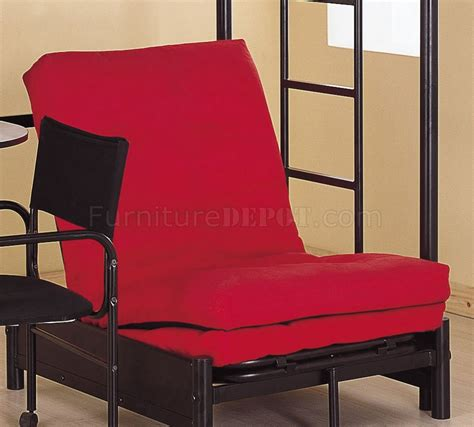 futon chair black modern bunk bed w desk chair and futon chair