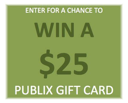Publix Gift Card Giveaway - contest has ended giveaway 25 publix gift card flavor excursion