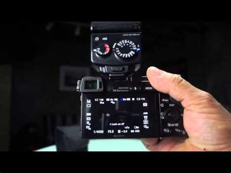 nissin i40 love mini compact flash reviewed on the sony